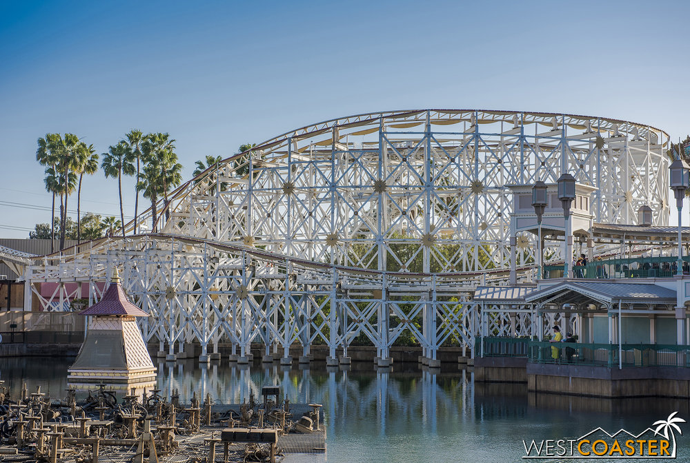 I may not be a fan of the overall transformation, but there are definitely parts of Pixar Pier that are looking pretty nice.