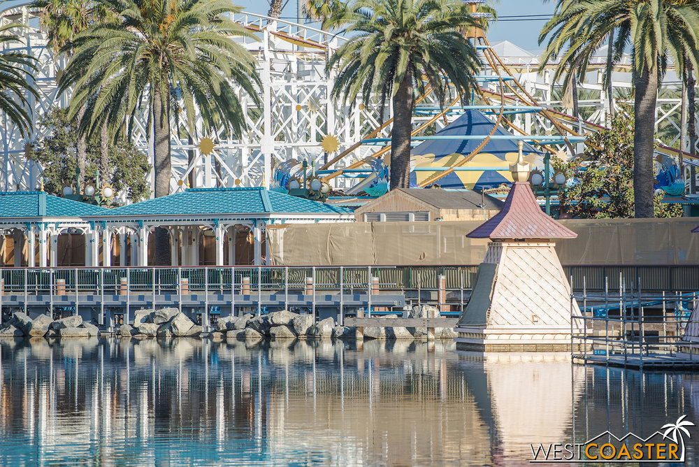 In other news, apparently, word on the street is that the California Screamin' LIM (linear induction motor) launch has been swapped out into a LSM (linear synchronous motor) launch!