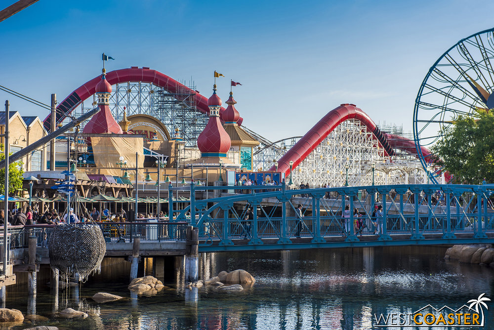 Welcome to Pixar Pier!