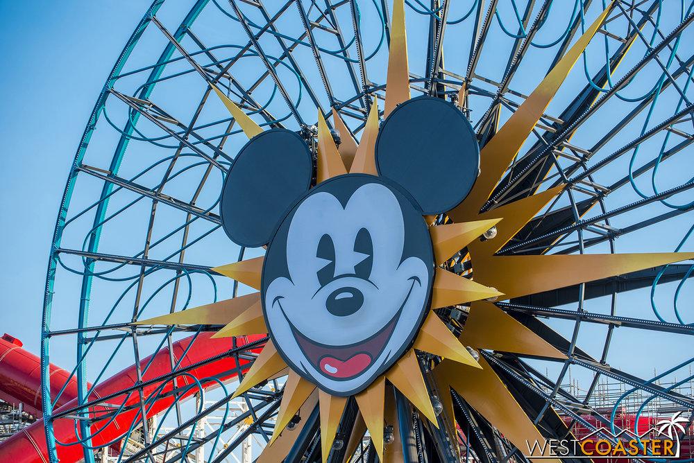 """Lets rename it to Pixar… but keep the Mickey face because that's iconic and people will protest if it's gone… but also pay respect to Mickey by giving this ride a new name that's more contrived than a Kardashian's Instagram!"""
