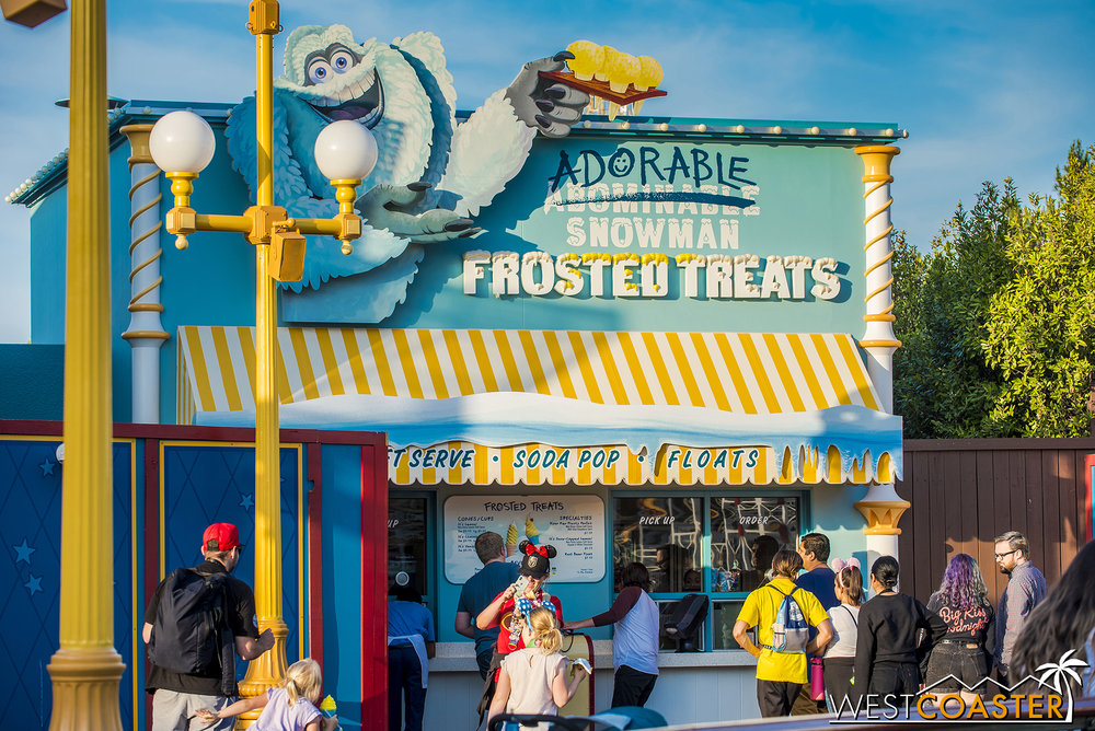 Also, I mentioned last time that Adorable Snowman Frosted Treats opened earlier this month.