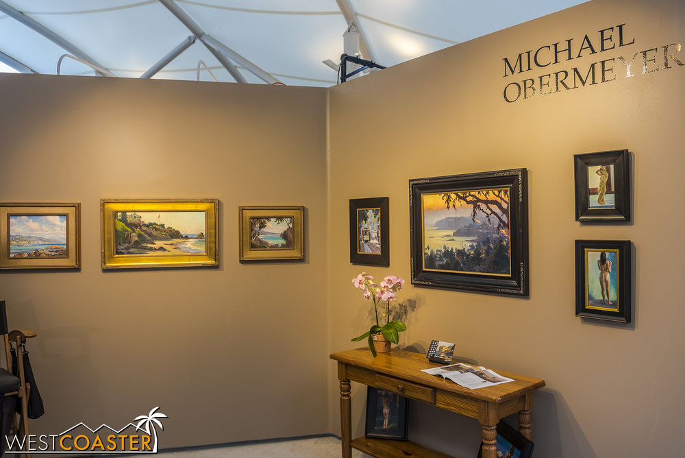 Artist #2: Michael Obermeyer.