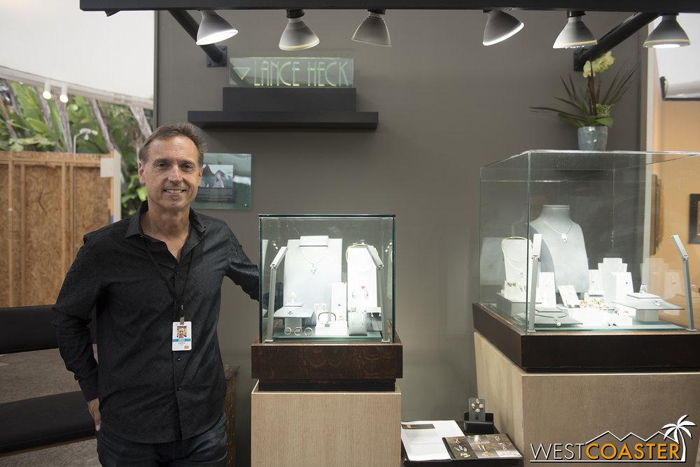 Lance Heck, a jewelry artist.
