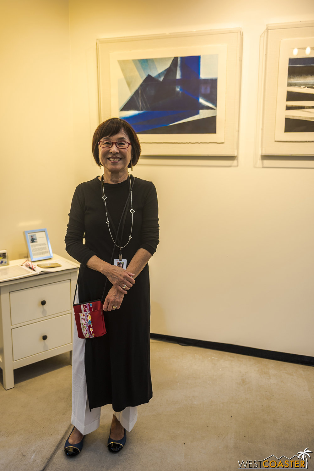 Yoonsook Bai Ryang, the last artist, works in printmaking.