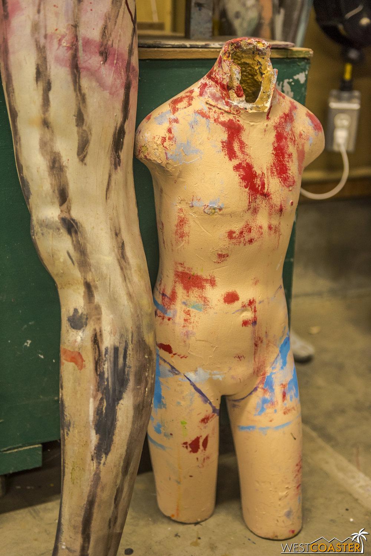 Bloody, disembodied torsos…