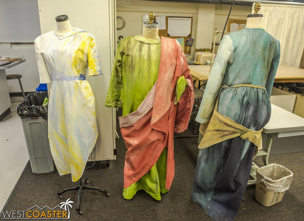 Examples of wardrobe.