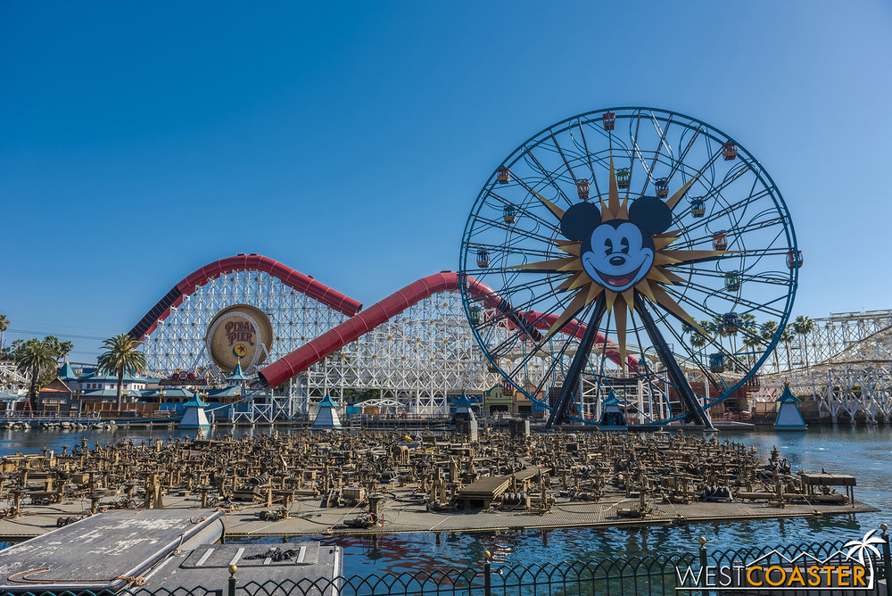 So recently World of Color tried to kill itself…