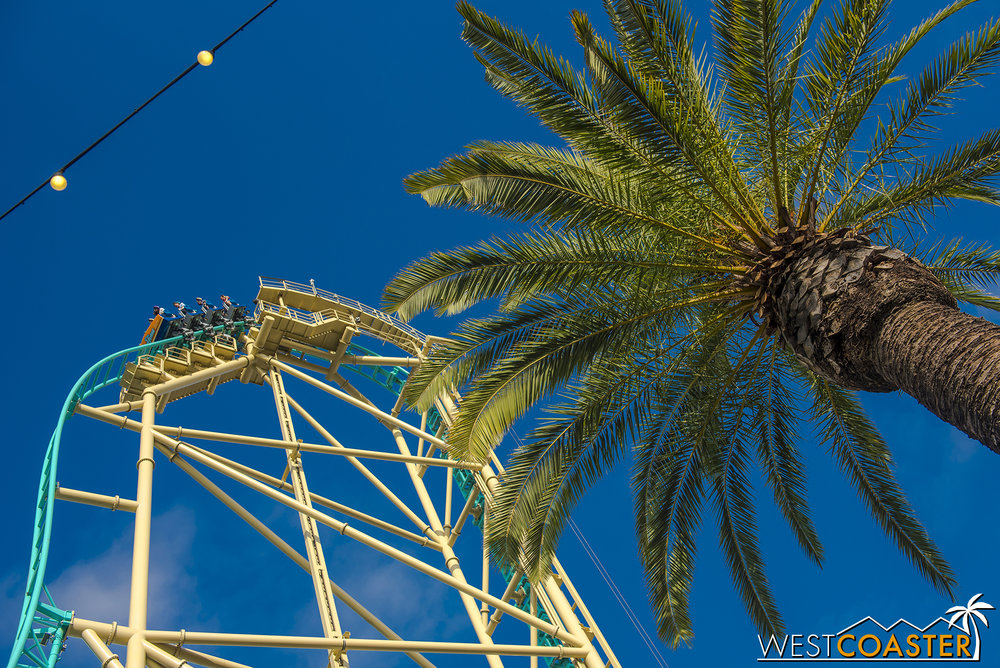 So here's a bunch of pretty, blue sky pics with HangTime!