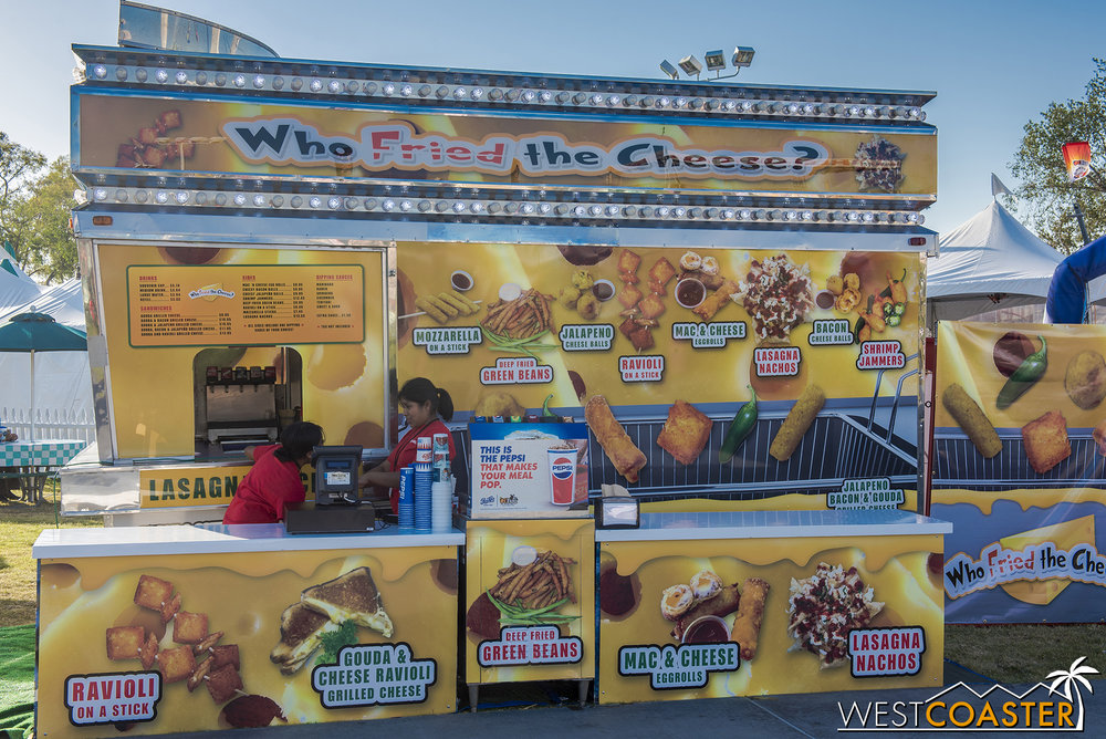 The Who Fried the Cheese stand, in Plaza Pacifica, also had Lasagna Nachos.  I wonder if these were better.