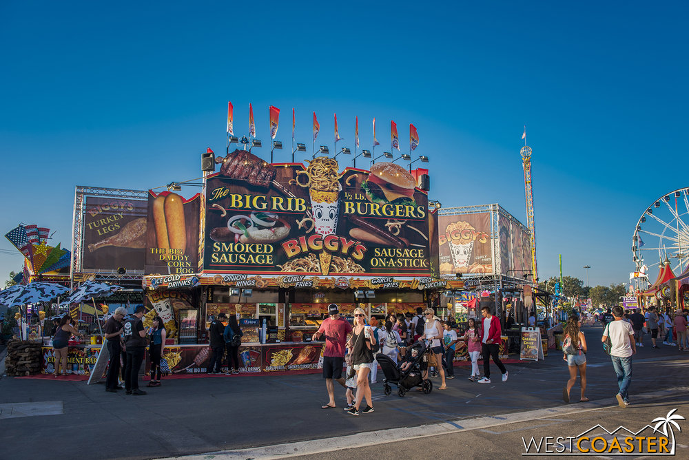 My favorite food item of the fair, however, were the Caramel Crack Fries from Biggy's, located on the west side of Carnival.