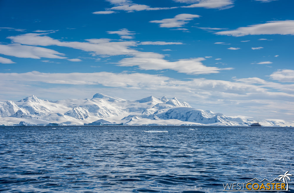 A spectacularly magnificent day kicks off the morning of our third full day in Antarctica.