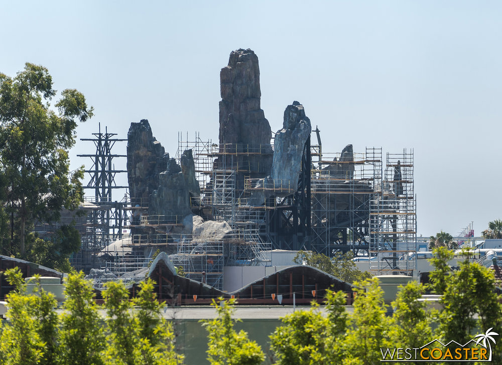 This is how Disneyland gets even more mountains.