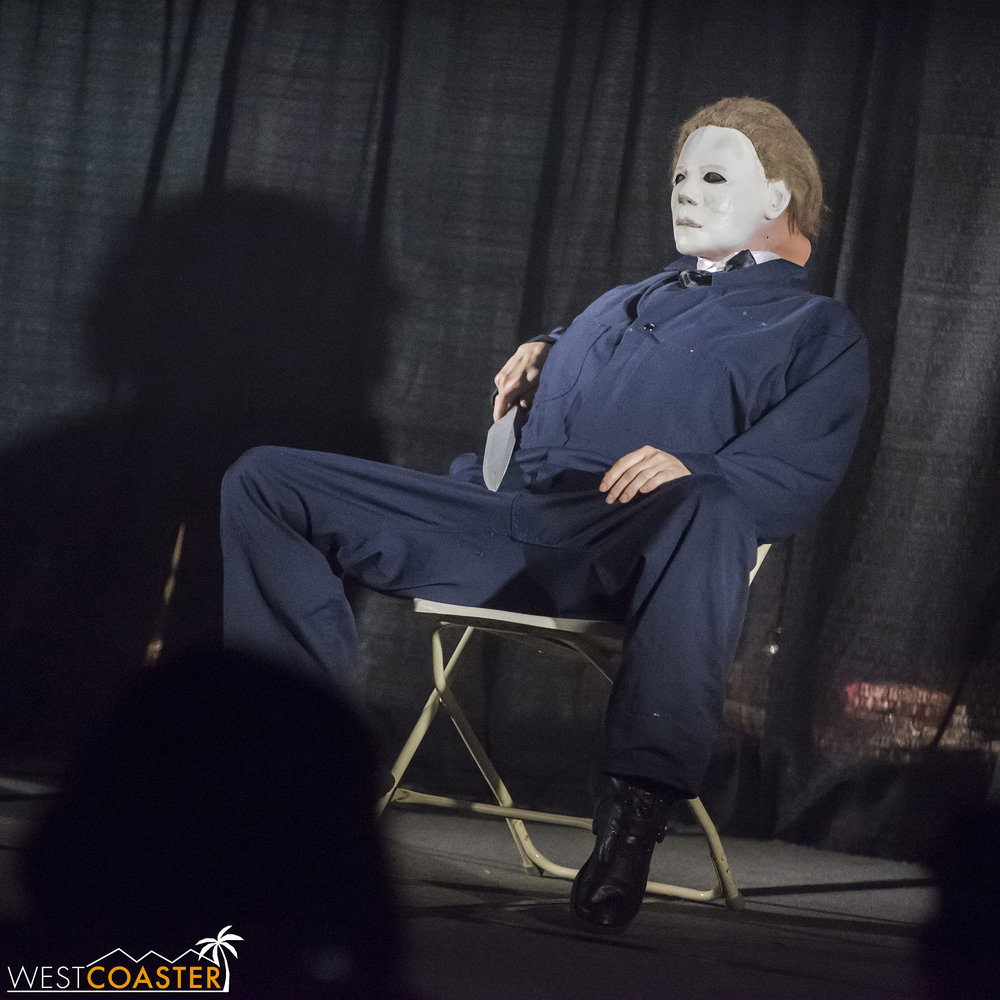 Then there was this sultry Michael Myers.