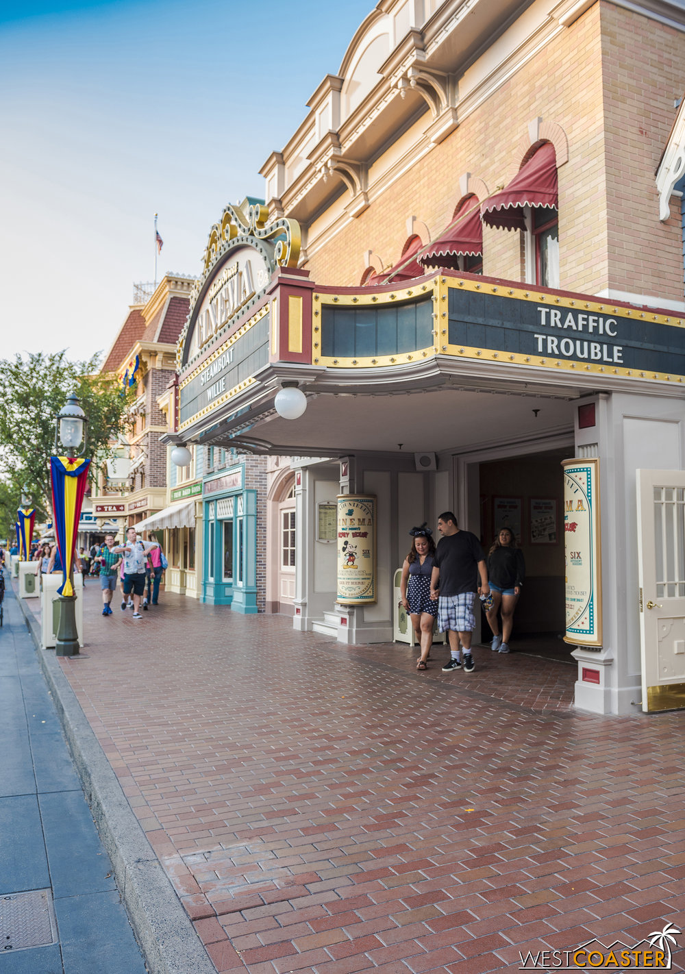 OH NOOOOEEEESSSS THE MAIN STREET INDIAN IS GONE!!!  But likely just for refurbishment. Otherwise, the brick patch job on the ground would have been better.