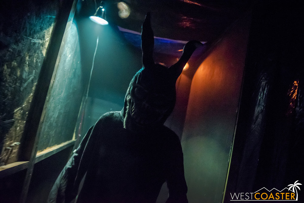 Donnie Darko haunts your nightmares at this year's Opechee Haunt.