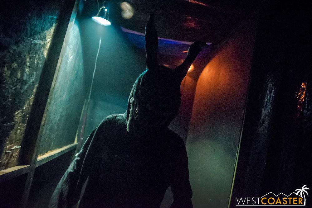 Donnie Darko haunts your nightmares at this year's Opechee Haunt.