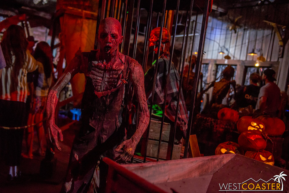 Reign of Terror always brings an extended scare experience with top-notch theming and atmosphere.