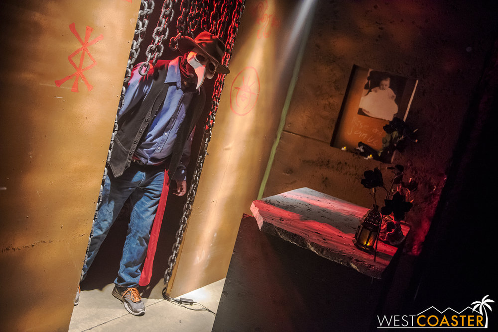 A look at The Dreich Society's entry into Midsummer Scream's Hall of Shadows this past summer.