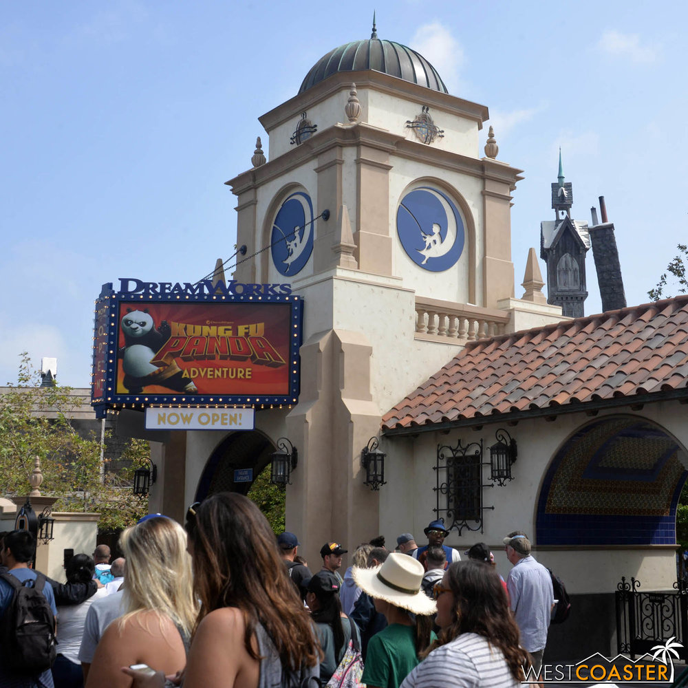 This is an overhaul of the former Shrek 4D show, and it can be configured to get an updated cinematic attraction as market trends see fit.