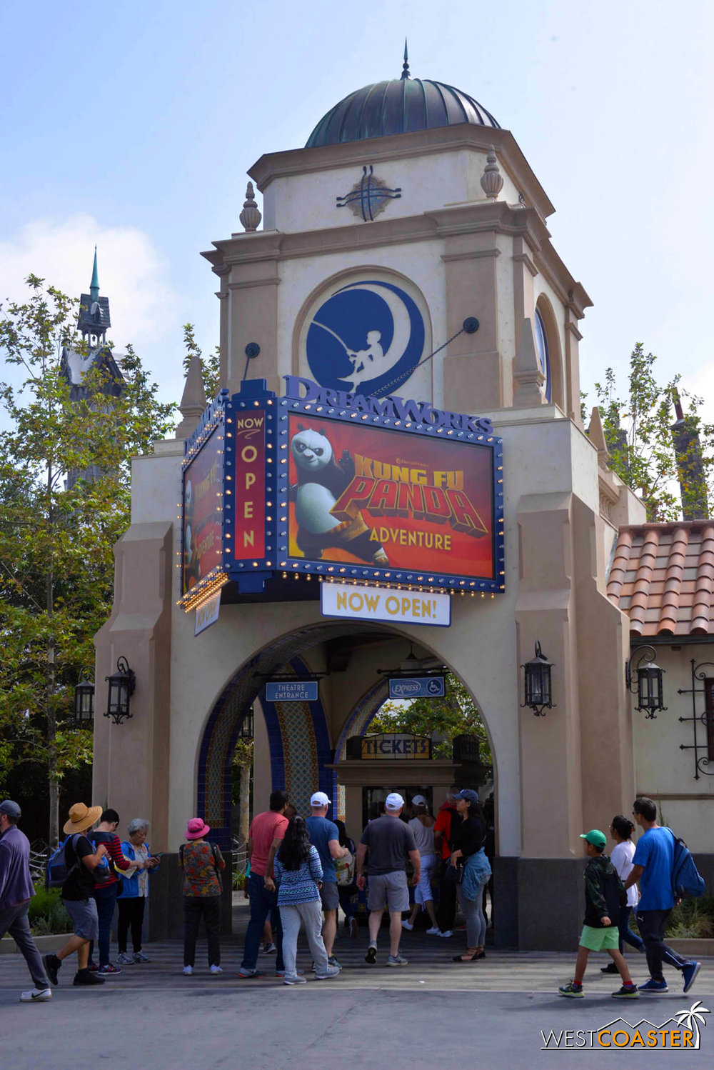 Since we last checked in, Universal Studios has also opened the DreamWorks Theatre.