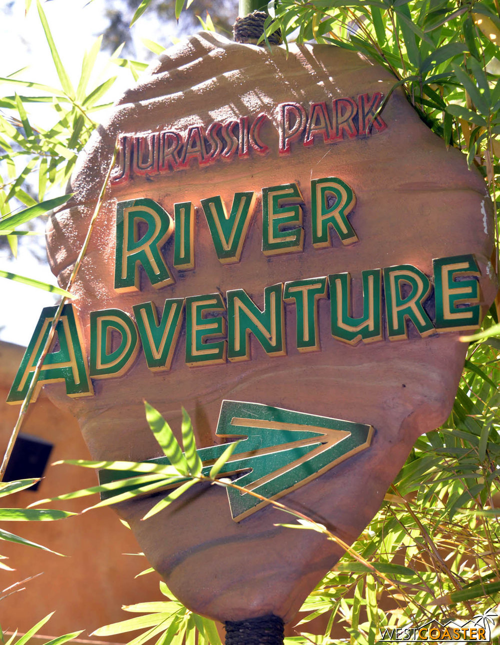 This way to the River Adventure.