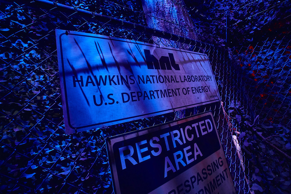 The Hawkins National Laboratory will be a stop too, of course.  How else do you get to the Upside Down?  Photo courtesy of Universal Studios.