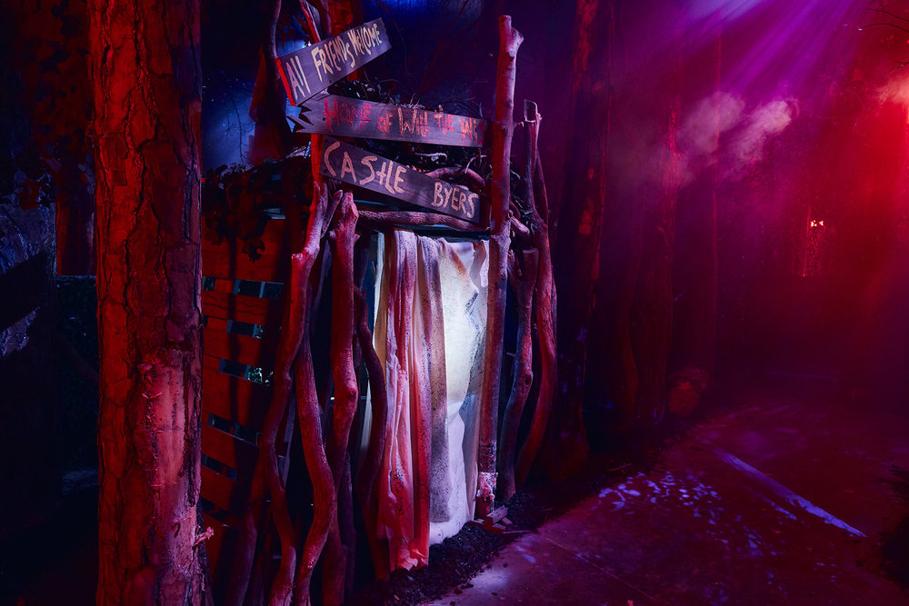 And maybe out of Castle Byers?  You know the drill at Horror Nights. Jump scares galore!  Photo courtesy of Universal Studios.