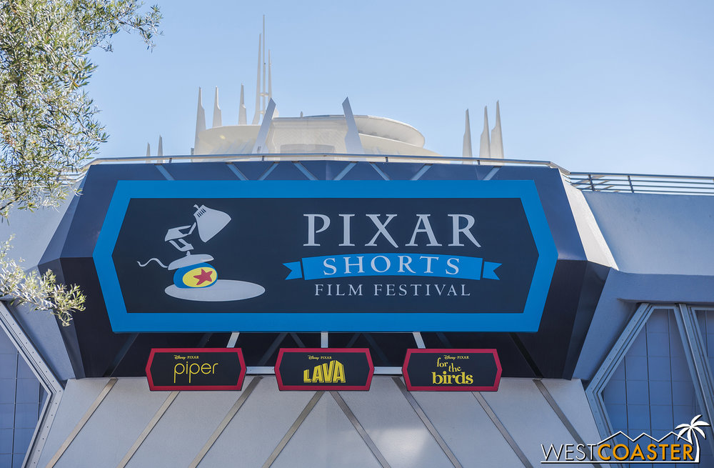 Missed the Pixar Shorts Film Festival? Never fear! You can still see these three short films plus three more in Hollywood Land in DCA!