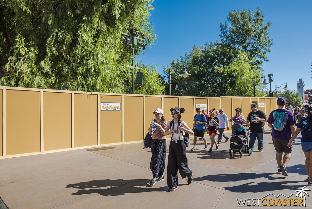 Disney Cali-construction Adventure is making a comeback, folks!