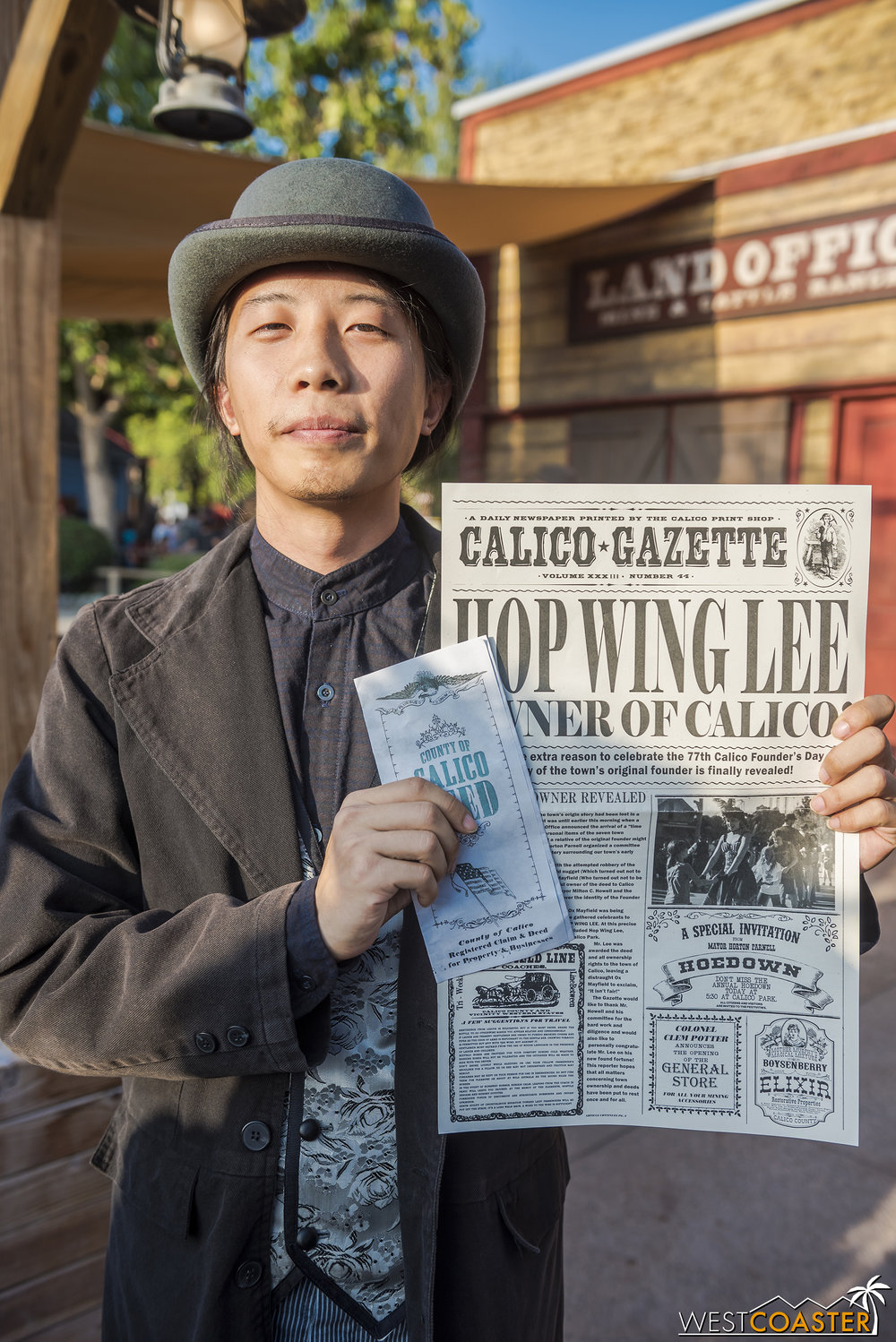 Meanwhile, the town is Hop Wing Lee's.    I, for one, welcome our new Chinese overlord(s)… to Calico.