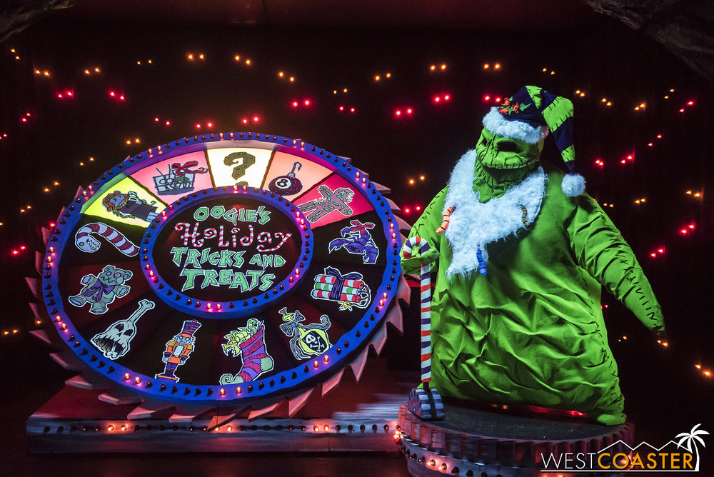 Oogie Boogie's got a holiday surprise!
