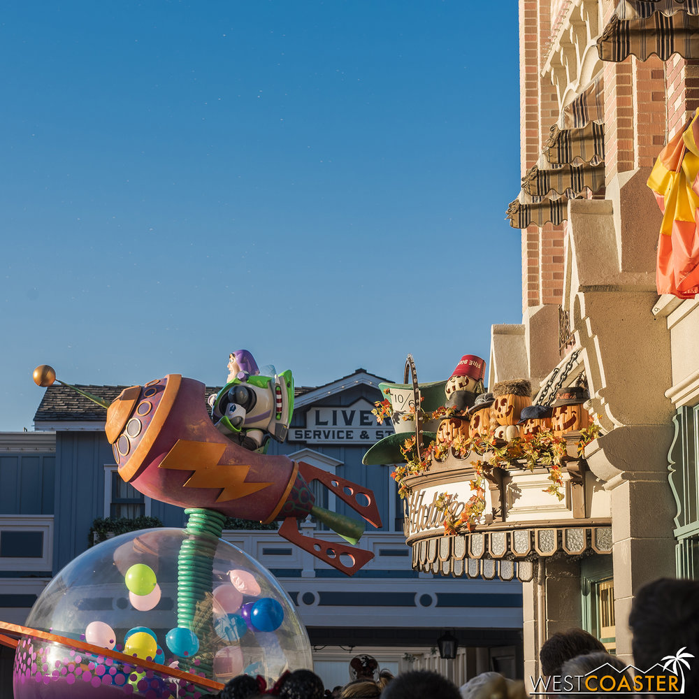 The Pixar Play Parade is still happening during the day.  Maybe it's Pixar Pumpkin Fest?