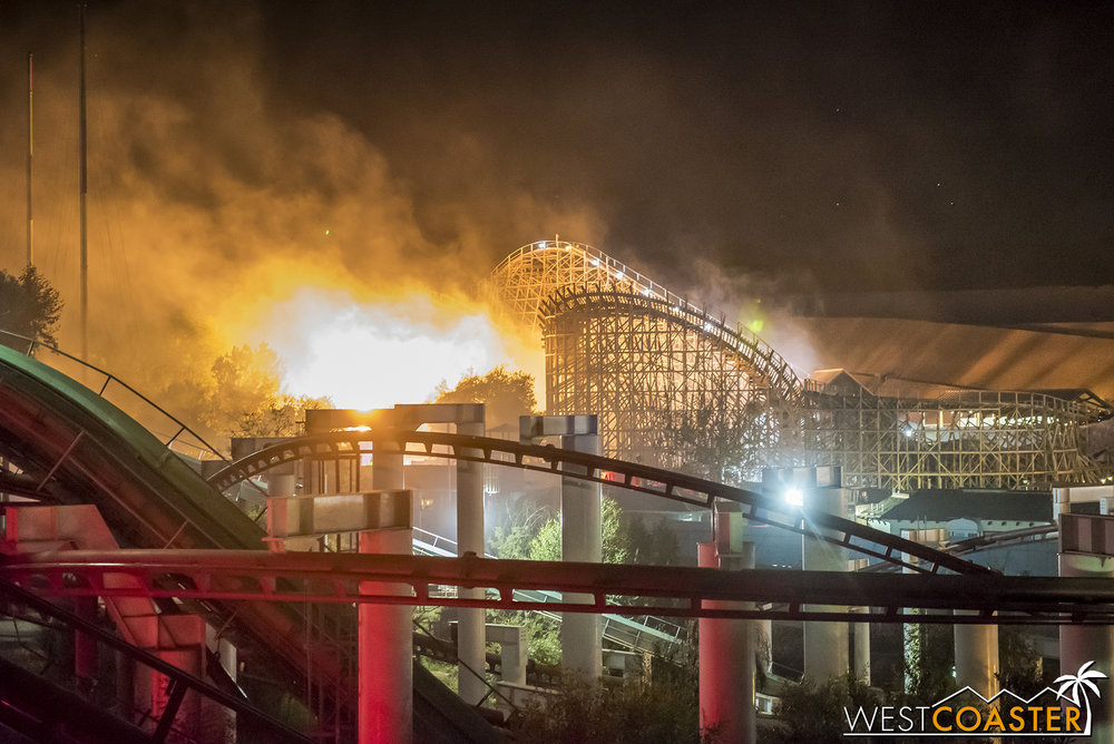 No need to burn it with fire. Fright Fest has definitely become a respectable haunt over the past few years!