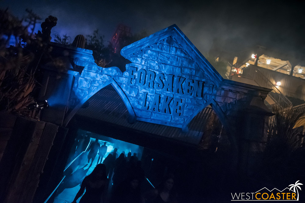 Forsaken Lake made a strong first year scare zone entry, although there were definitely elements that could use enhancement.