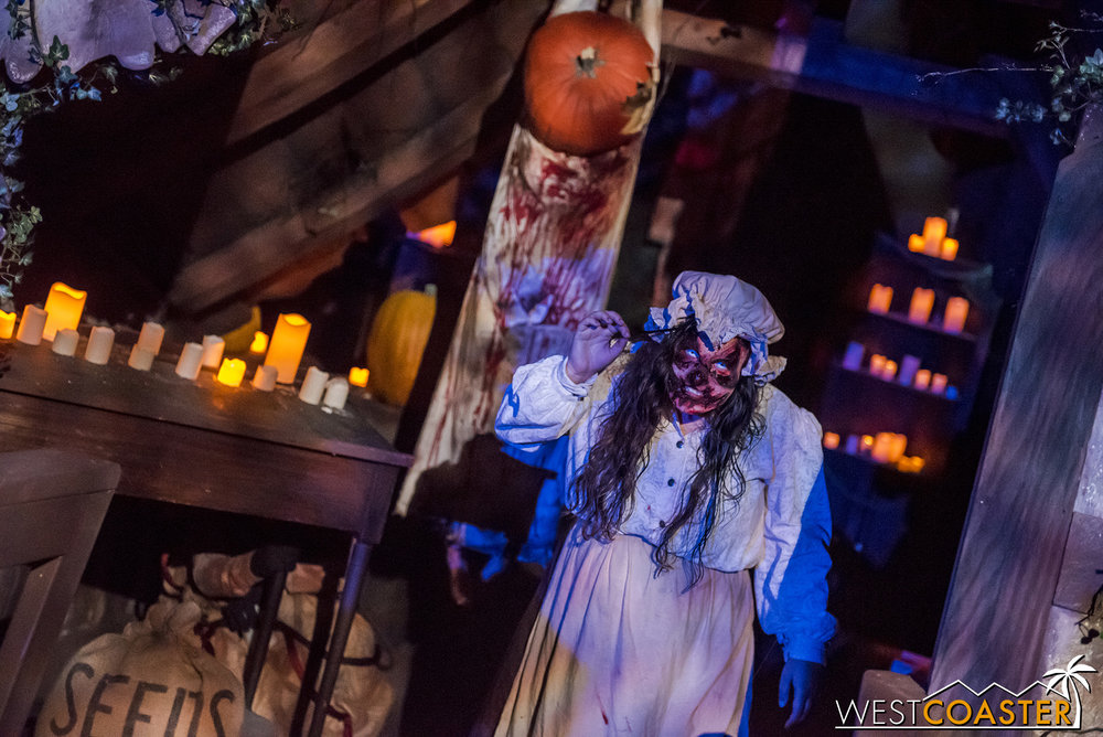 Pumpkin Eater was very strong on opening weekend, with perhaps the most packed amount of talent in the maze!