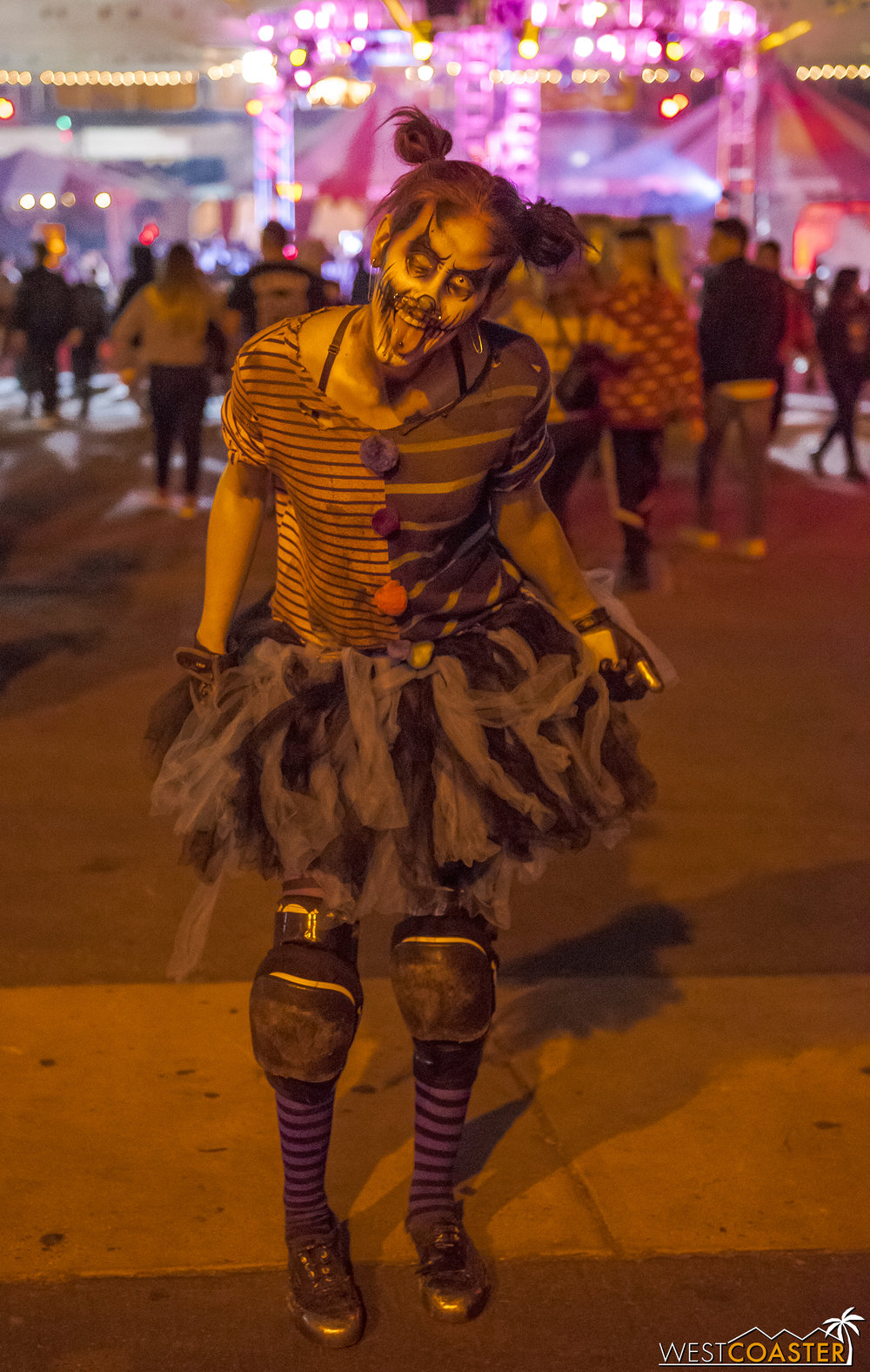 The street monsters are all pretty great at Dark Harbor!