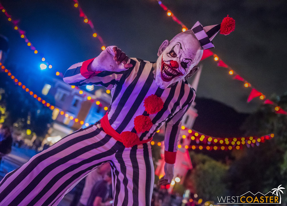Clowns abound in this Festival of Frights.