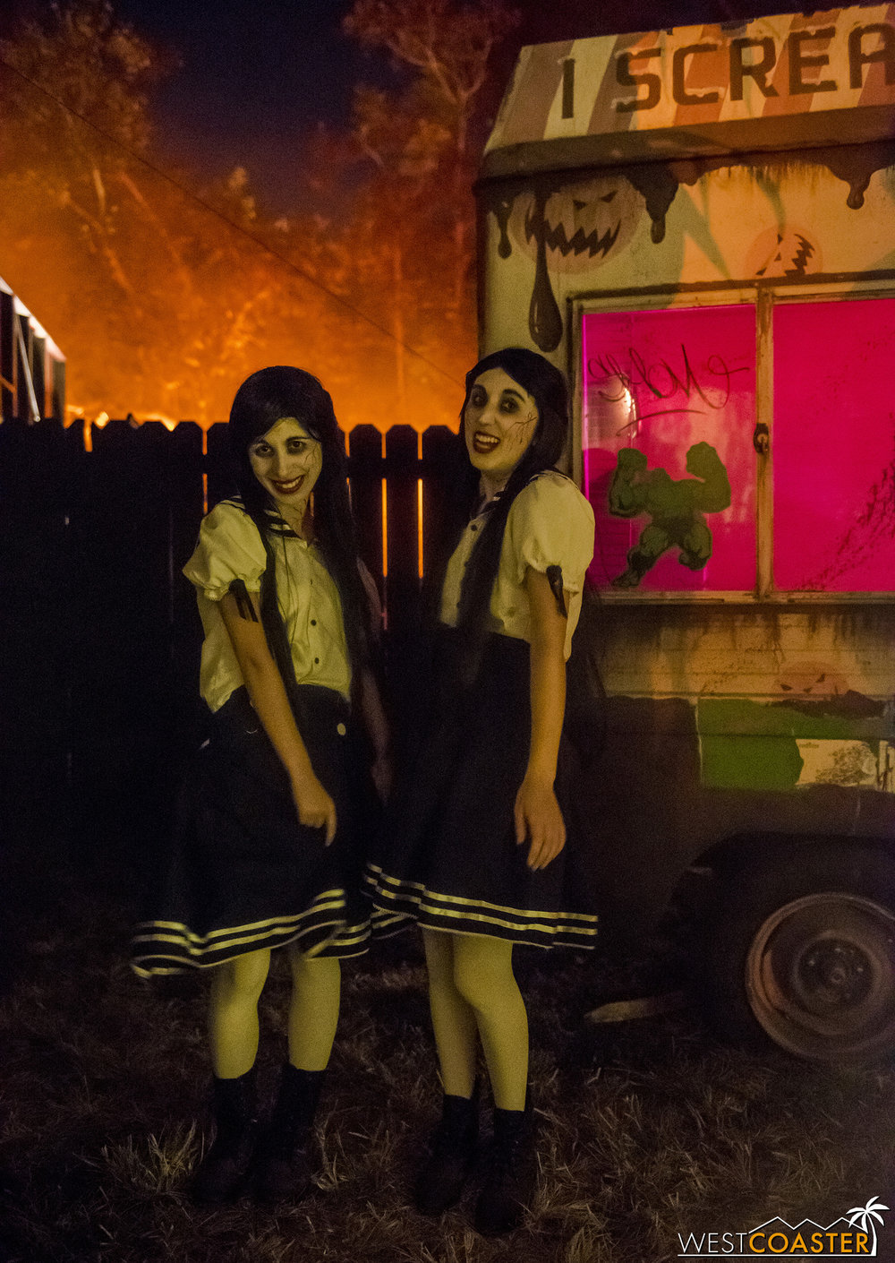 These twins just want to play murderous games.  Will you indulge?