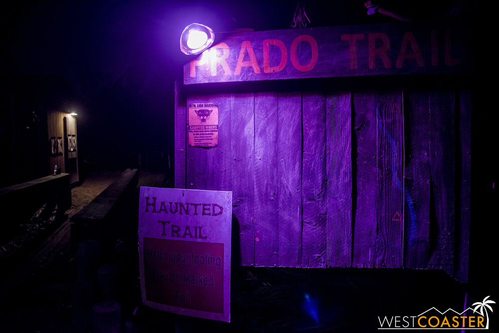 Welcome to the Prado Witch Trail.