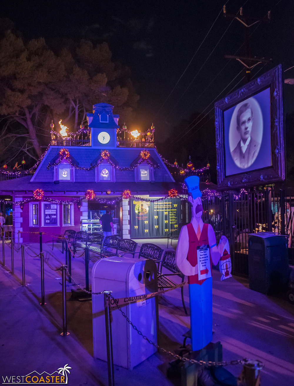Ghost Train once again delivers a wonderfully delightful experience that's great for the family or for demographics of all ages who simply love Halloween!