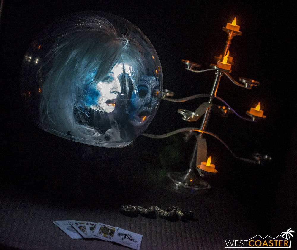 Perhaps Madame Leota can shine a light on the situation.