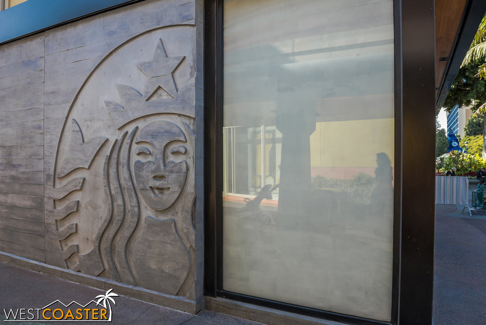 Oh, and it looks like this Starbucks location will be coming back after all!