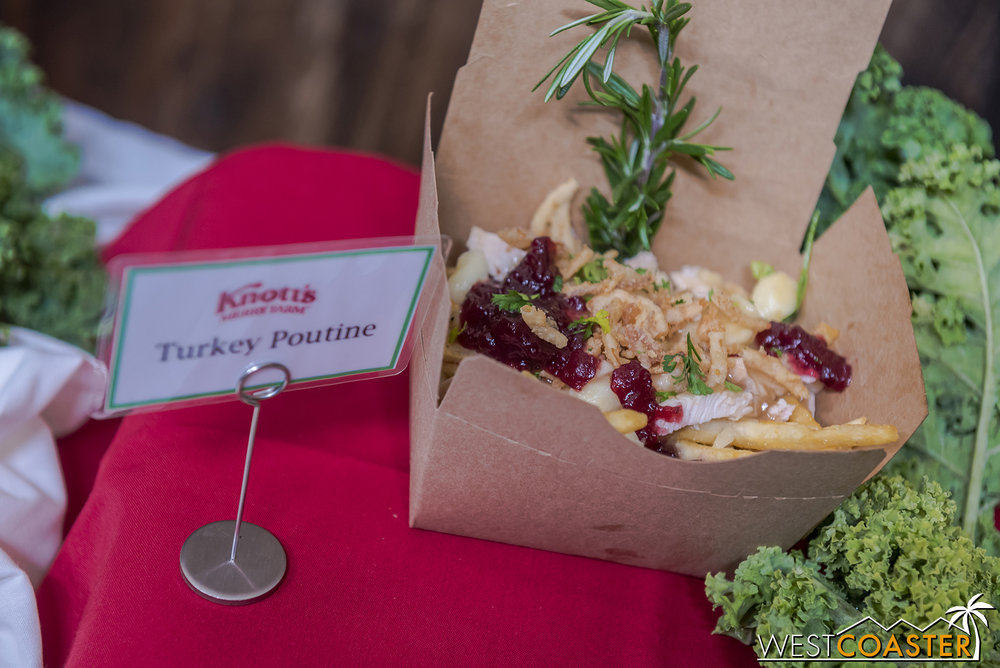 The can't-miss item is definitely the Turkey Poutine, which is laden with flavor!