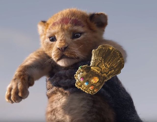 New Lion King looks rad... (not mine, someone sent this to me, if you know who did this please tag them because they deserve credit!) #disney #marvel #lionking