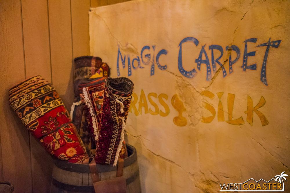 Some magic carpets.