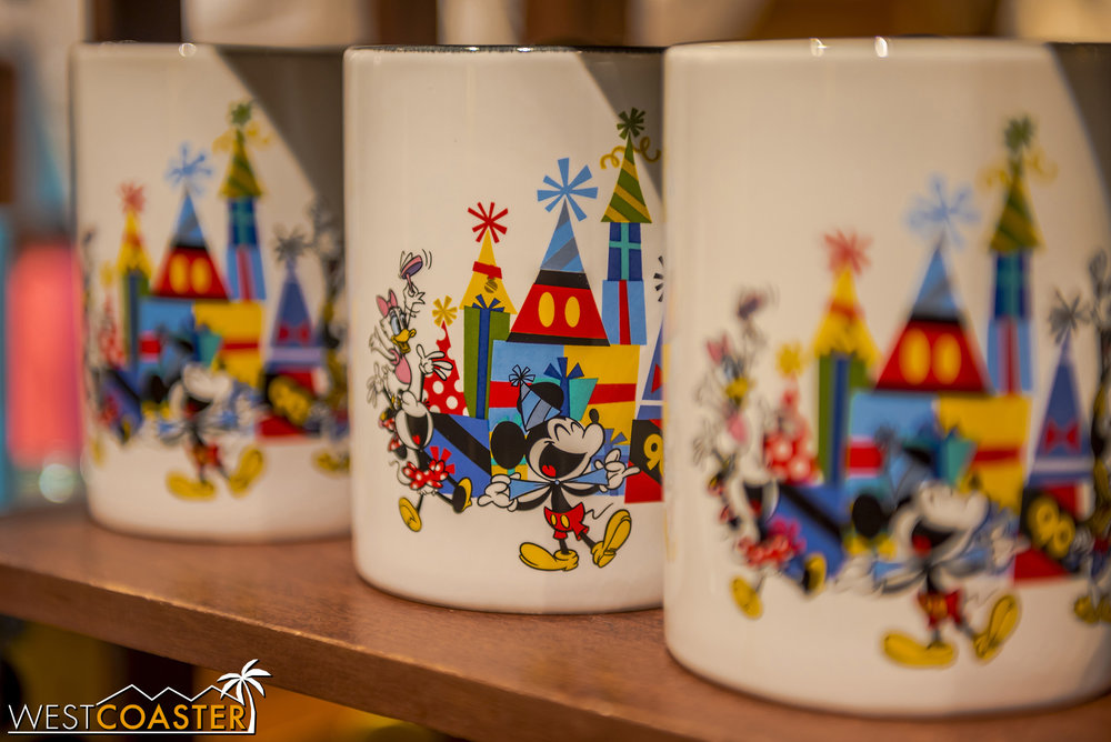 I like the colors and design on the mugs.