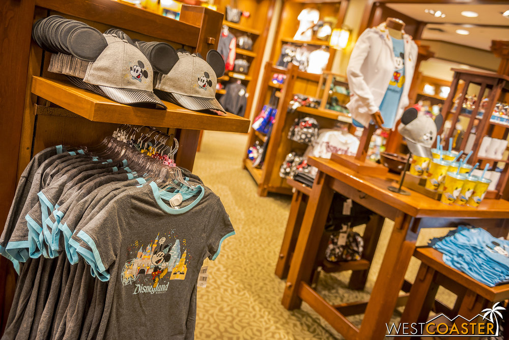Disney has certainly figured out how to milk the merch in conjunction with special, seasonal events!