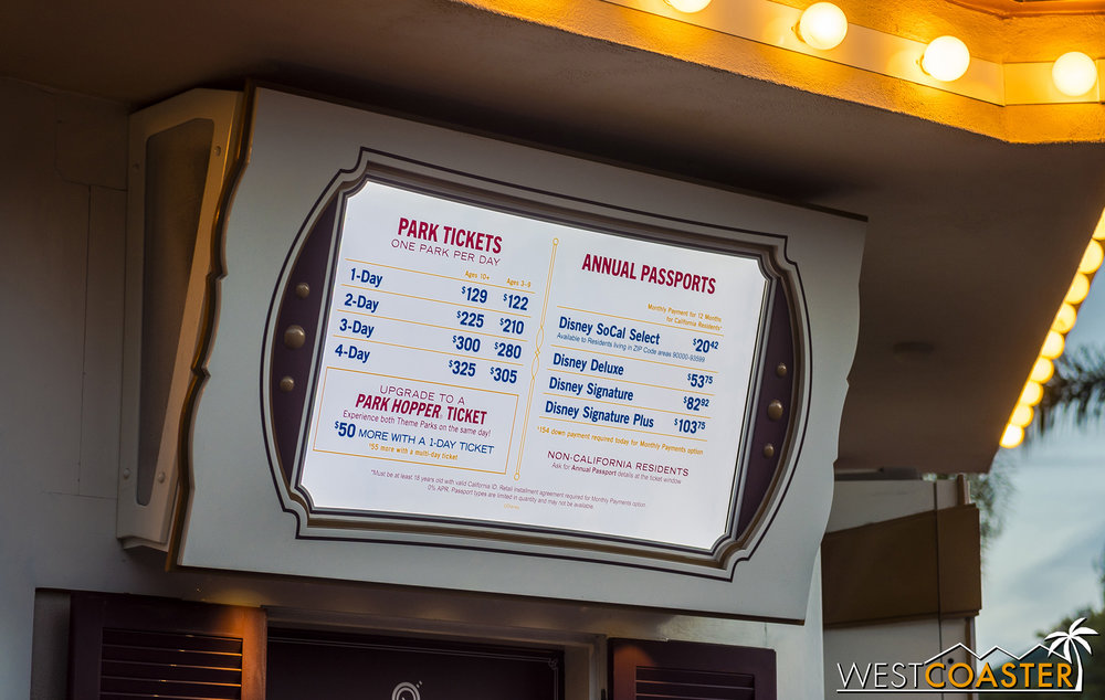 Another year, another price increase at Disney.