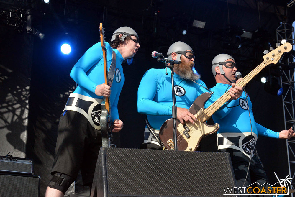 So do cult favorites The Aquabats.