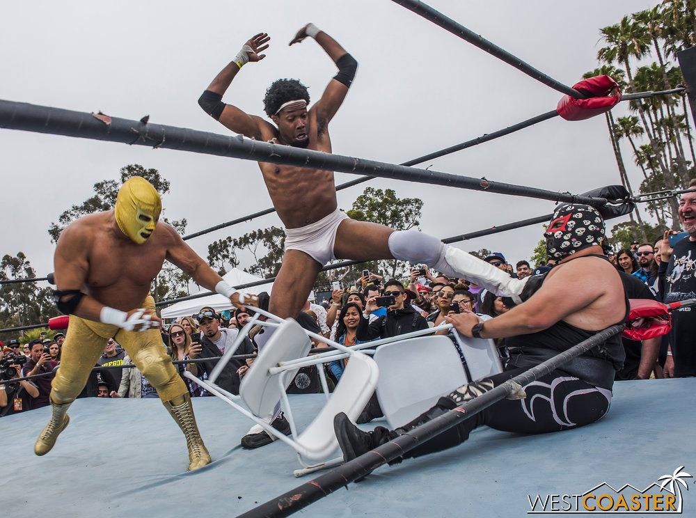 Lucha libre wrestling returns too.
